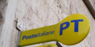 Insegna di un uffico Poste Italiane