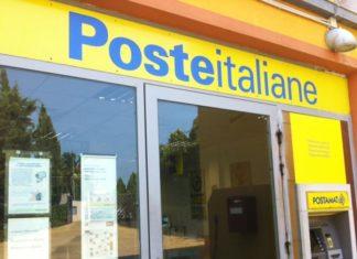 Un ufficio postale di Poste Italiane