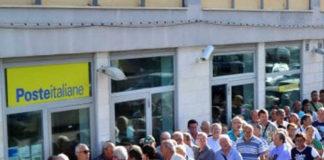 Disagi negli uffici postali di Catania